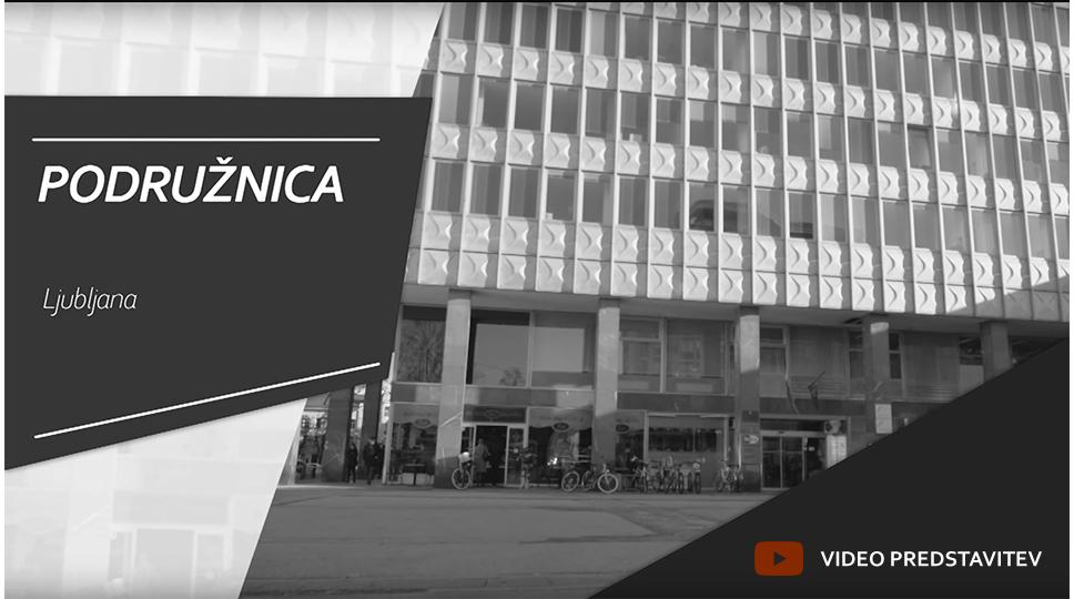 Grilc, Starc & Partnerji Sedez podruznica Ljubljana